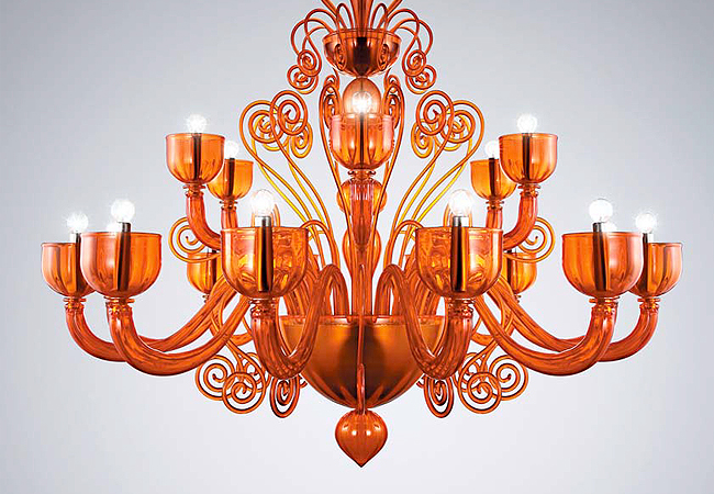 La Murrina, luci, oggetti murano, lampadari in vetro di murano