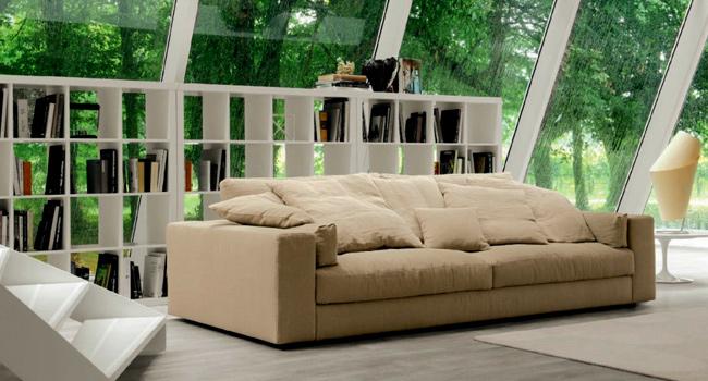 Arredamenti vinzio vendita divani busnelli bruma salotti for Poltrone componibili