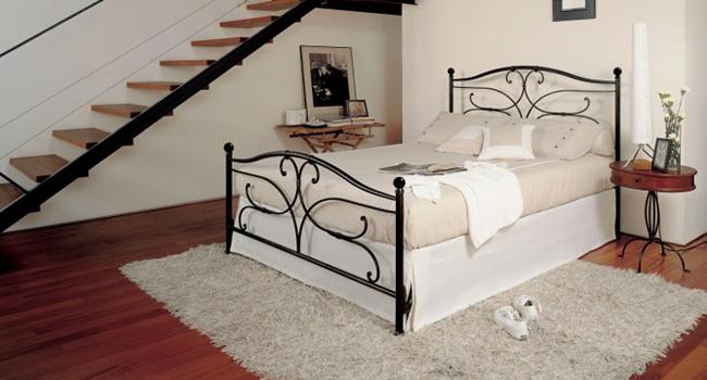 Vinzio mobili vendita letti in ferro forgiato barel letti for Letti classici