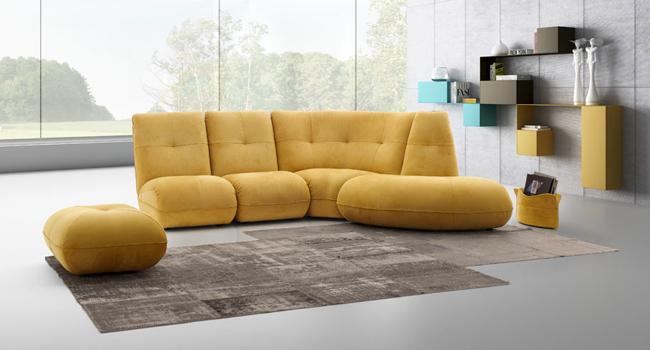 Arredamenti vinzio vendita divani busnelli bruma salotti for Salotti moderni