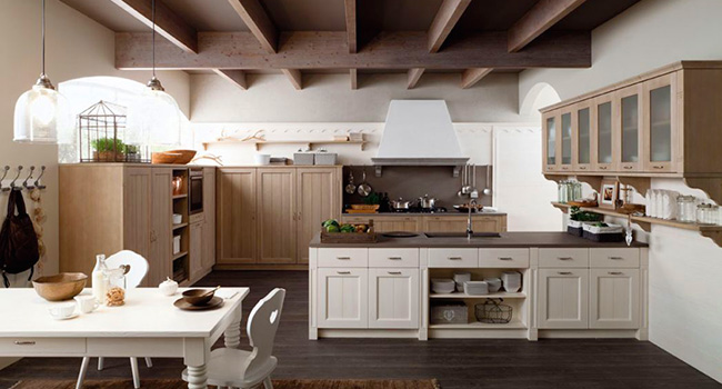 Arredamenti vinzio vendita cucine arrital cucine del - Mensole cucina country ...