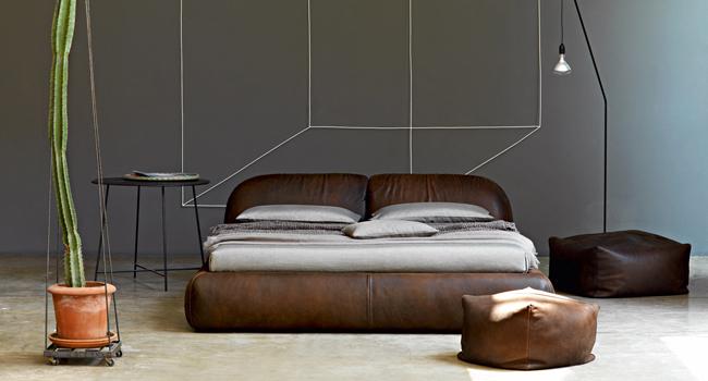 Vinzio mobili vende letti cinova in pelle e tessuto letti for Letti moderni design