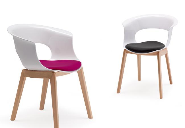 Sedie pranzo design da giardino sedia in plastica sedia for Coprisedia bianco ikea