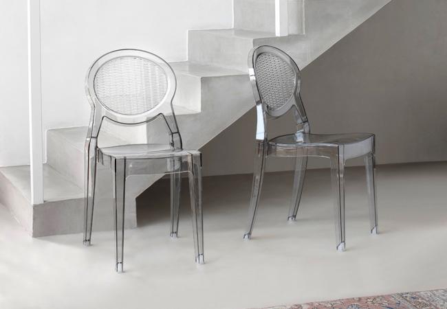 Sedie in metallo ikea design casa creativa e mobili - Sedie impilabili ikea ...