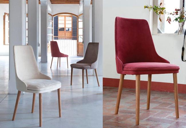 Sedie impilabili e sgabelli per cucine e sale da pranzo for Sedie acciaio e legno
