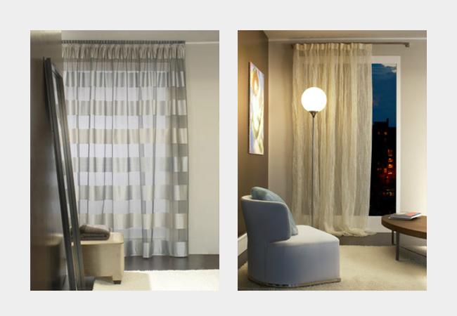 Tende classiche e moderne mobili vinzio novara - Tendaggi per interni ...